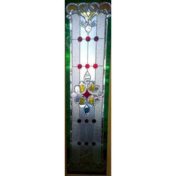 Stain Window Glass With Crystals