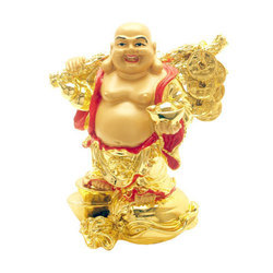 Lucky Feng Shui Laughing Buddha Showpiece