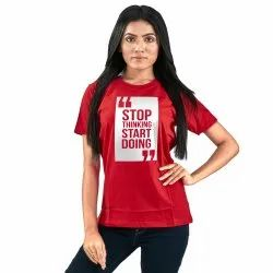 Red Cotton T-Shirts