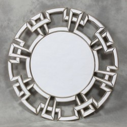 Wall Designer Mirror, Shape: Round