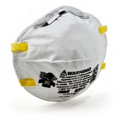 New - 3m N95 8210 Rajan Mask Approved Kumar Respirator Nios