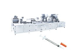 Automatic Insulin Needle assembly machine