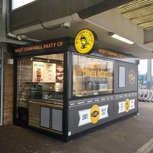 Outdoor Food Retail Kiosks