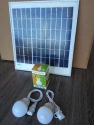Round 7W Solar LED Bulb, Warranty: 1 Year