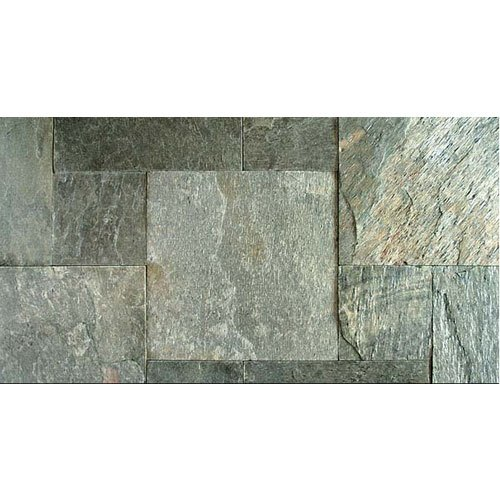 Silver Shine Slate, Thickness: 15-20 mm