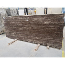 Titanium Travertine Marble