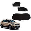 Dust Proof And No Smell Kozdiko Premium Quality Zipper Magnetic Car Curtain Set