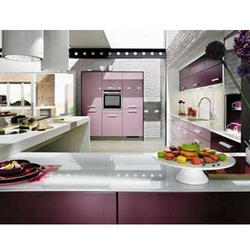 Acrylic Modular Kitchen