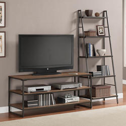 Own Custom TV Table with Side Rack, For Home