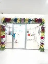 Fresh Flowers offfice decoration, mumbai