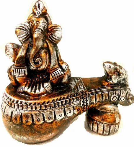 Handcrafted Terracotta Home Decor Ganesha For Interior