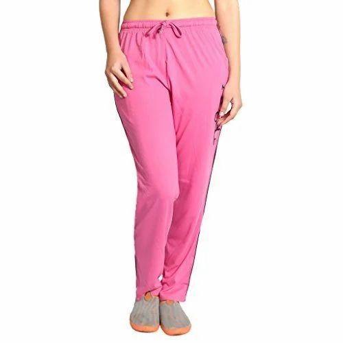 09a1ff095 Ladies Cotton Plain Pink Lower