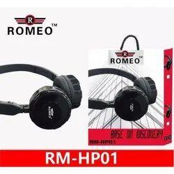 Romeo Black Rm-Hp01 Headphone
