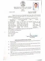 Punjab seeds Licence