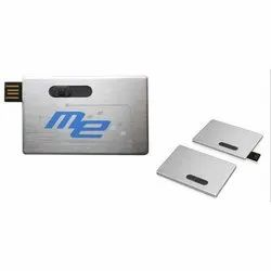 Metal Visiting Card Pen-Drive