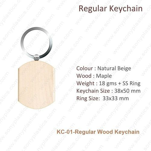 Wooden KeyChain-KC-01-Regular