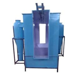 Single Cyclone Powder Coating Booth