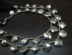 Natural Silver Pyrite Cushion Shape