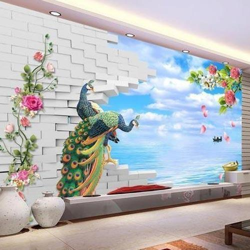 Best Wall Painters In Hyderabad: Korean Paper And Designer Wallpaper, Rs 75 /square Feet