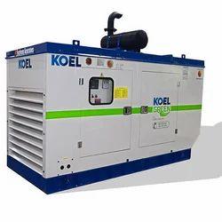 125 kVA Kirloskar Diesel Generator, 415 V