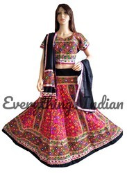 Indian Hand Embroidered Chaniya Choli