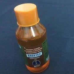 塑料布雷咳嗽糖浆,瓶尺寸:100毫升
