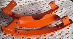 Mild Steel Sonalika Rotavator depth skid
