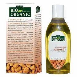 Bio Organic Cold Pressed Almond Oil 100ml