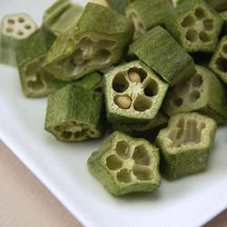 Okra Dried Round Pieces