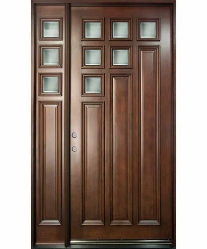 Solid Wooden Front Door