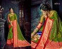 Pure Braso Silk Party Wear Saree, Length: 6.3 M