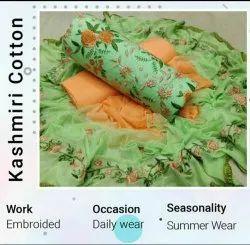 Womens Designer Cotton Salwar Suits & Dress Materials