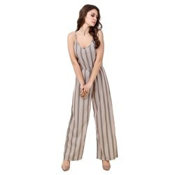 Women's Crepe Printed Jumpsuit