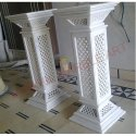 Marble Jali Stand