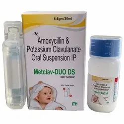 Amoxycillin And Potassium Clavulanate Oral Suspension IP
