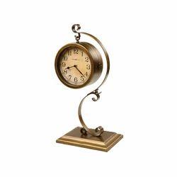 Brass Designer Vintage Table Clock