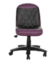 Workstation Purple And Black Chair