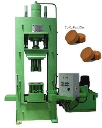 Coir Pith Disc Making Machine