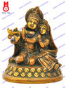 Radha Krishna Sitting On Lotus Base Statues
