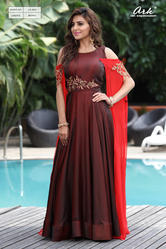 EMBROIDERED LONG PARTY WEAR KURTI