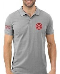 Cotton Men's Polo Neck T-Shirt