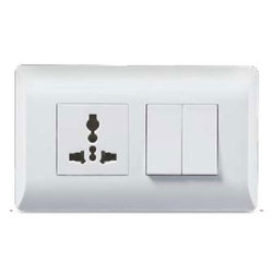 White Electrical Switch, 220 V