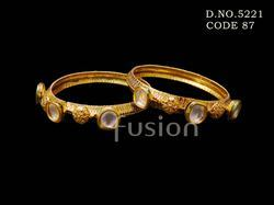 Designer Kundan Indian Bangles