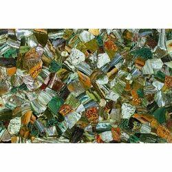 Pearl Stone Ocean Jasper Green Wall Tile, 1-2 Inch