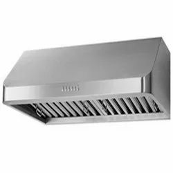 Wall Mounted SS Exhaust Hood