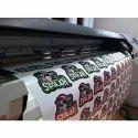 Matt Vinyl Sticker Printing Service