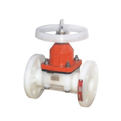 Flange End PP Diaphragm Valve