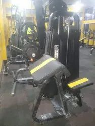 Preacher Curl Machine