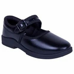 Leather Formal Black Girl School Shoes, Article: Rnt Dlx Derby