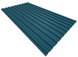 Galvanized Iron Color Coated JSW Colouron Plus Corrugated Colored Roofing Sheets